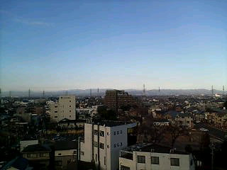 良い天気です(^-^)