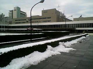 NHKも雪化粧〜♪