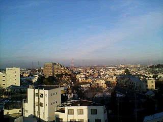 霧の朝(^-^)