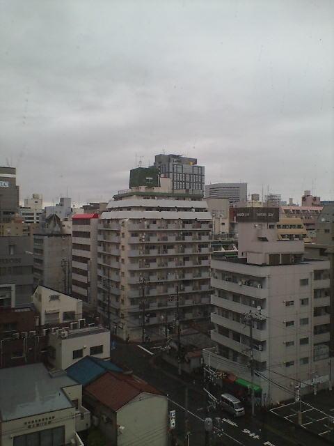 大阪の朝(^-^)