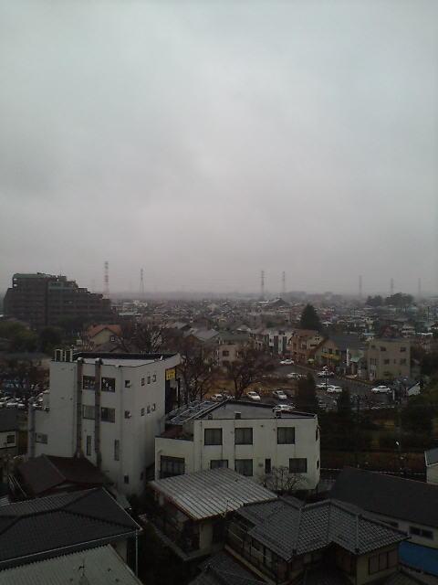 雨の朝(^-^)
