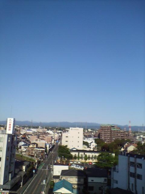 良い天気(^-^)