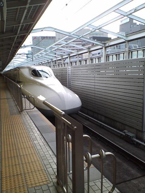 大阪を出ます♪