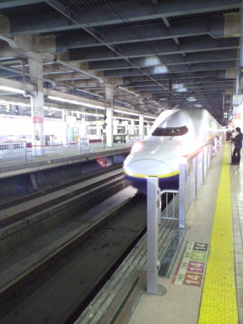 東北新幹線(^-^)