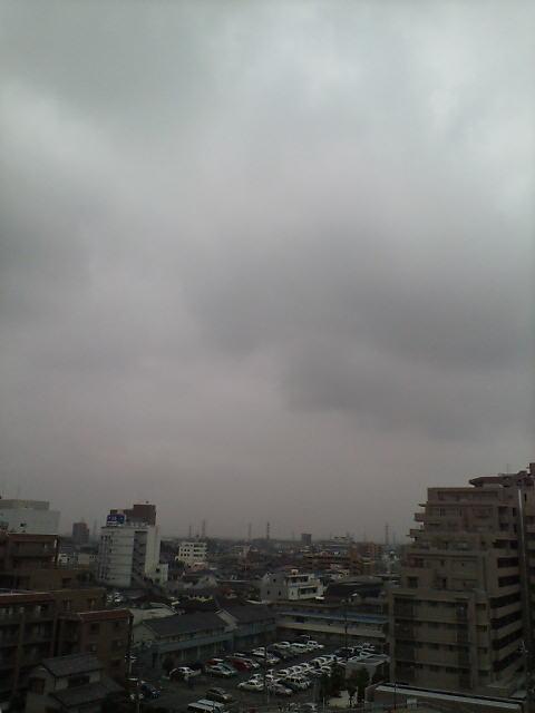 まもなく梅雨入り?