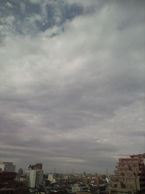 雲がいっぱい(^-^)