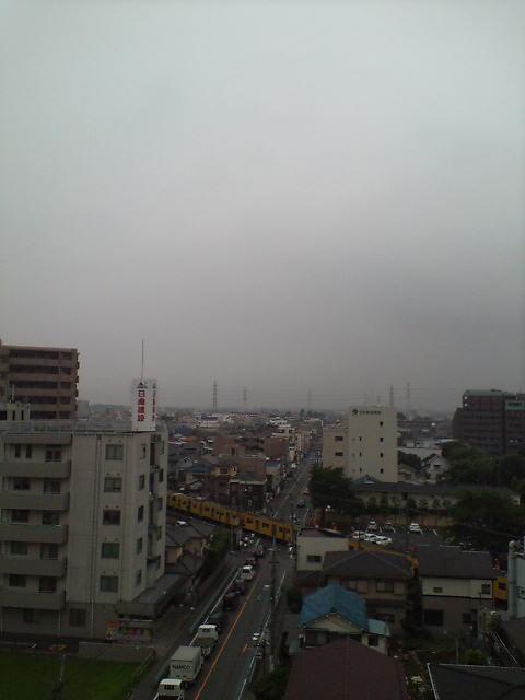 梅雨の朝(^-^)