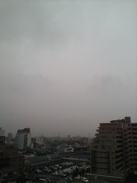 霧雨の朝(^-^)