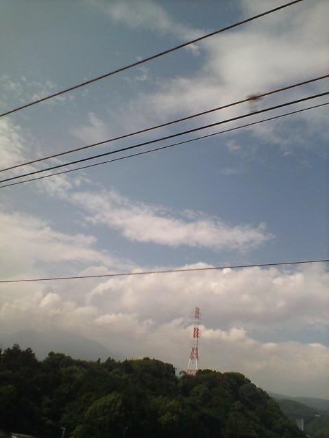 暑い空(^-^)