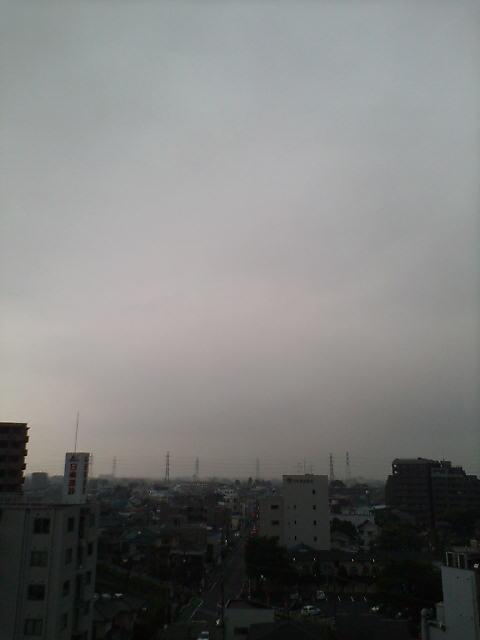 お天気が崩れそう(>_<)