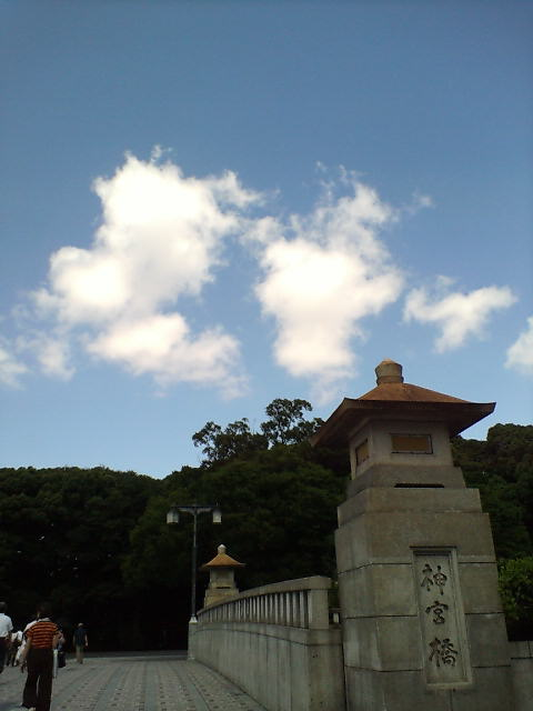 原宿・明治神宮(^-^)