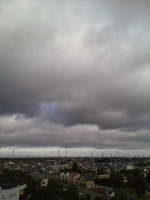 雨雲ふわふわ