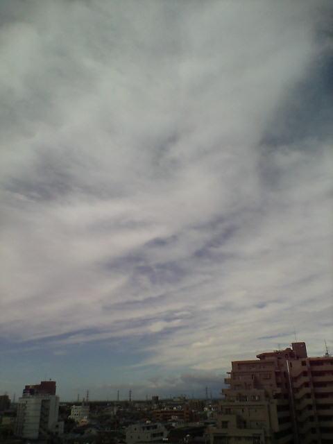 風の強い空♪