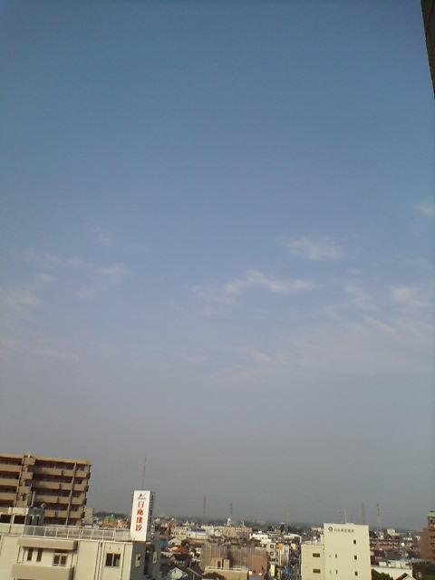 まだ空は低く(>_<)