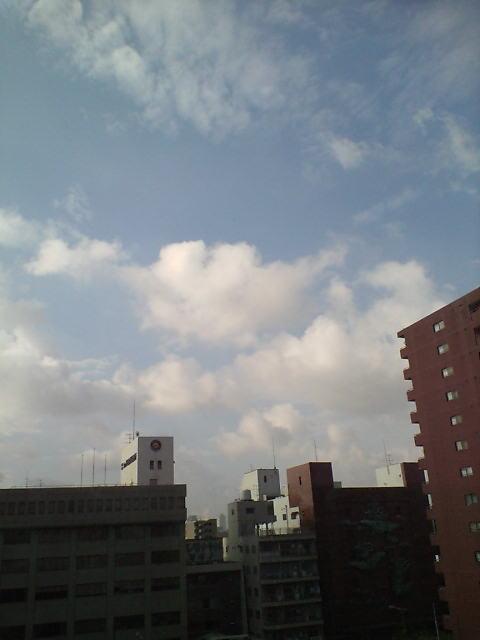 大阪の朝♪