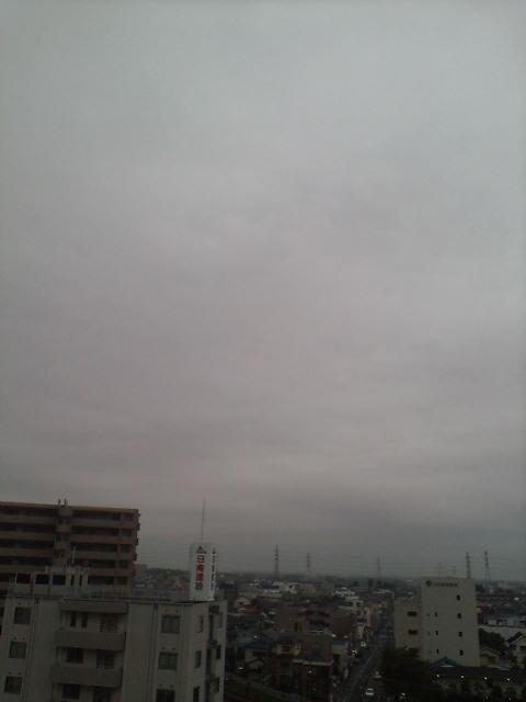 肌寒い朝(>_<)