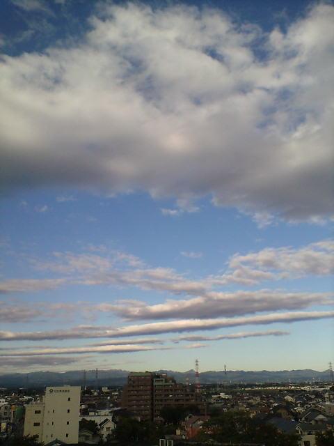 空が冬です(>_<)