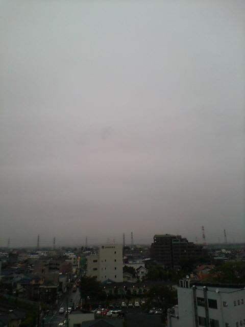 雨の朝(>_<)
