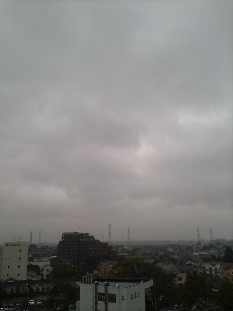 すでに雨空(>_<)
