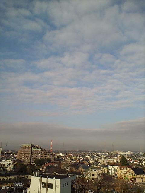 雲の合間に
