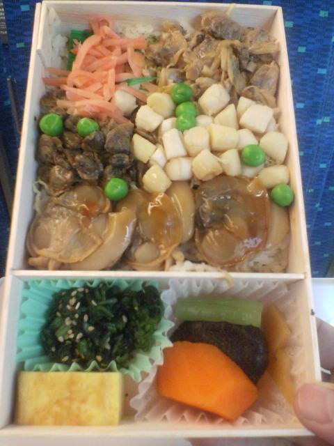 品川名物「貝づくし弁当」