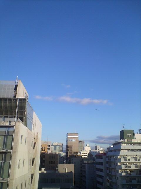 大阪遠征の朝