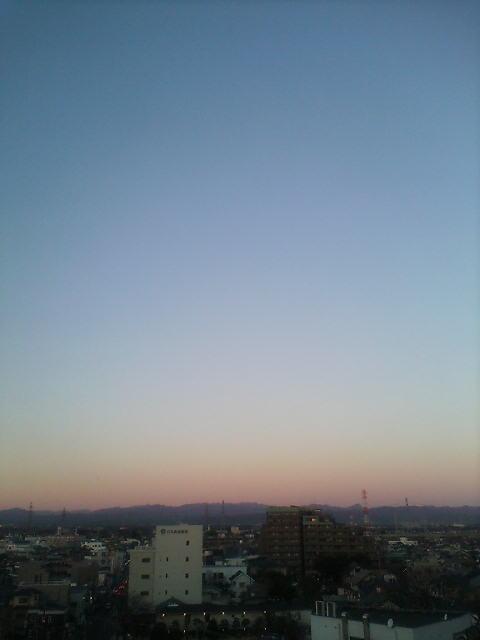 気持ちの良い朝(^-^)