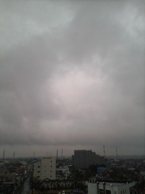 2日続きの雨