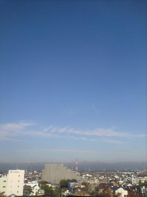 空気の澄んだ朝
