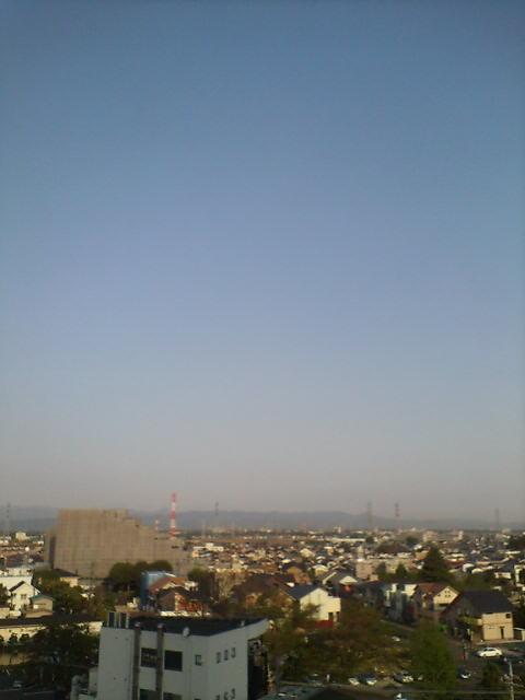 清々しい朝空
