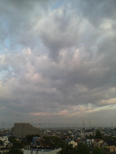 幻想的な朝空