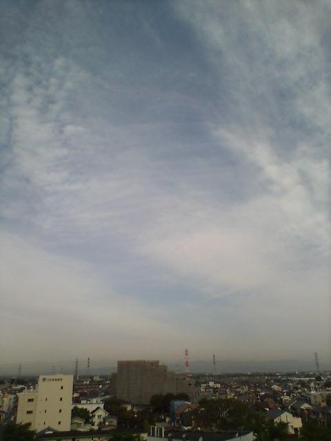 空は青く♪