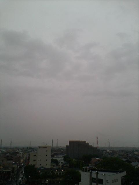 梅雨に向かっていますね♪