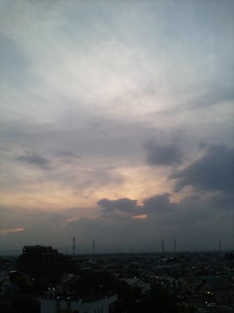 不思議な夏雲です