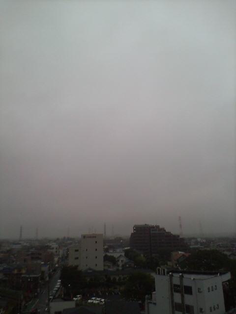 雨空でクールダウン