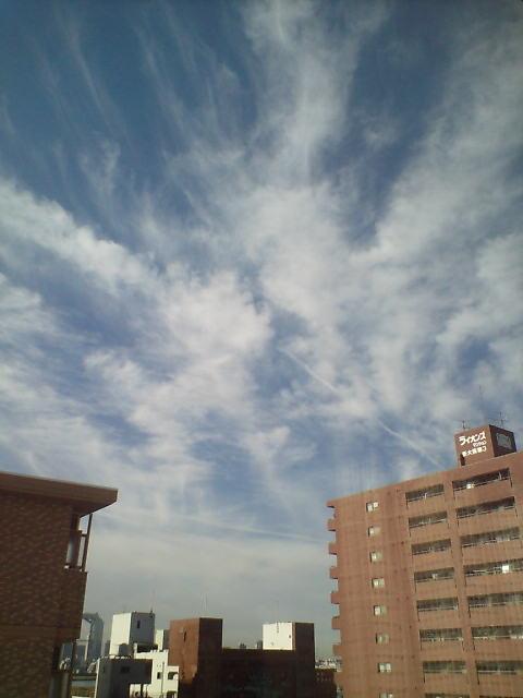 大阪の朝空♪