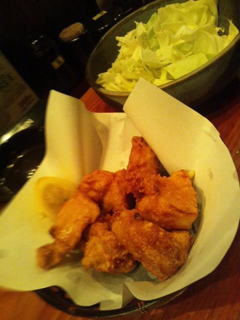 夕食は鶏肉三昧
