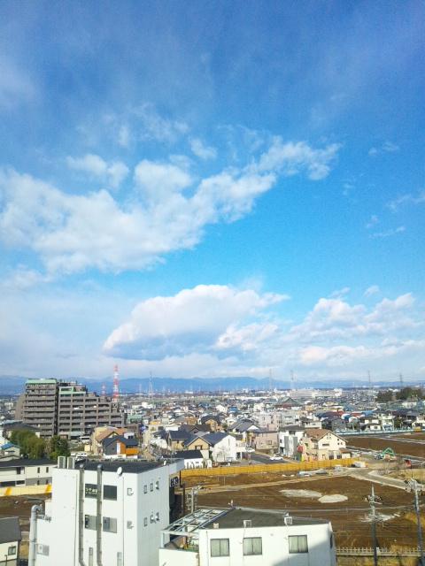 良い天気で良かった♪