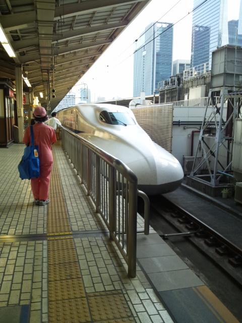 大阪に向かいます(^o^)