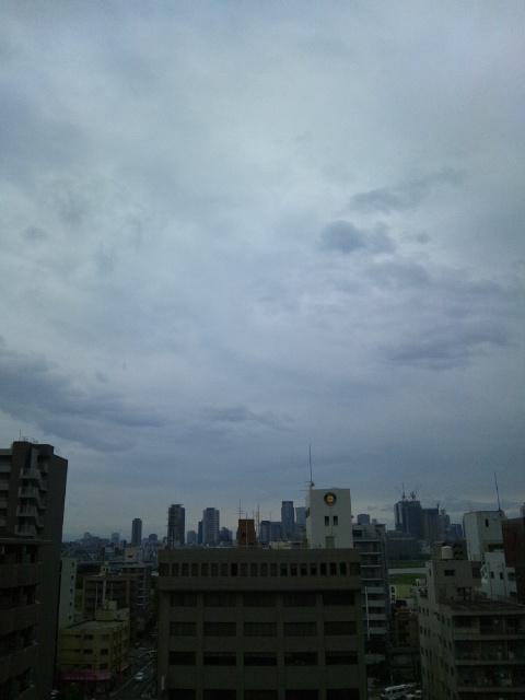 大阪の朝2