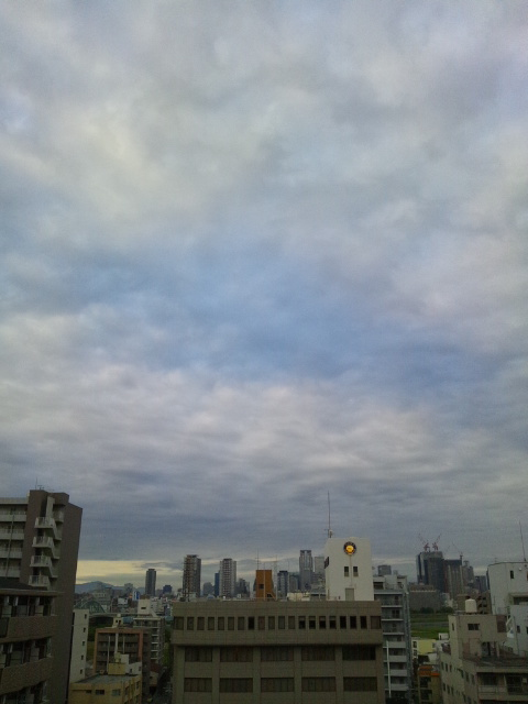 大阪の朝です3♪