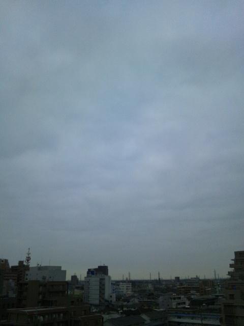 川越の朝です♪