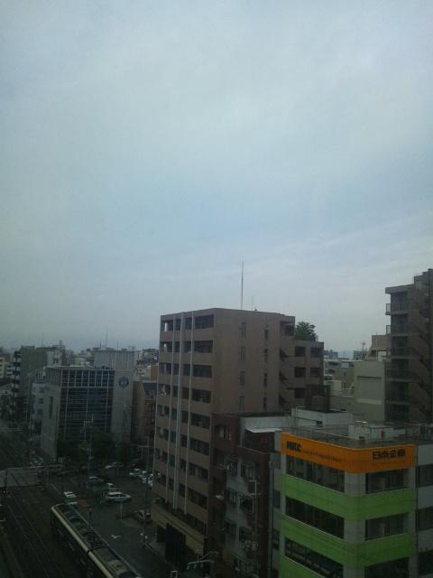 大阪の朝です♪