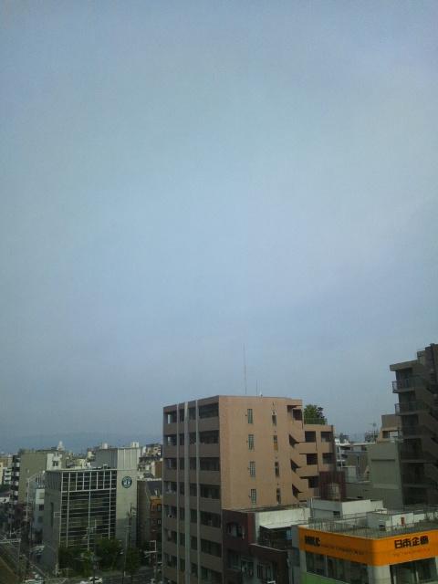 大阪の朝六日目♪