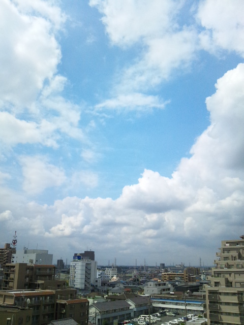 雲と青空♪