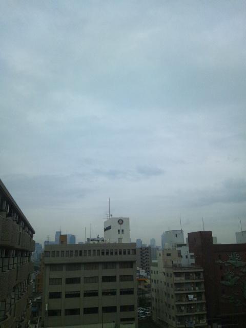 大阪は大雨です