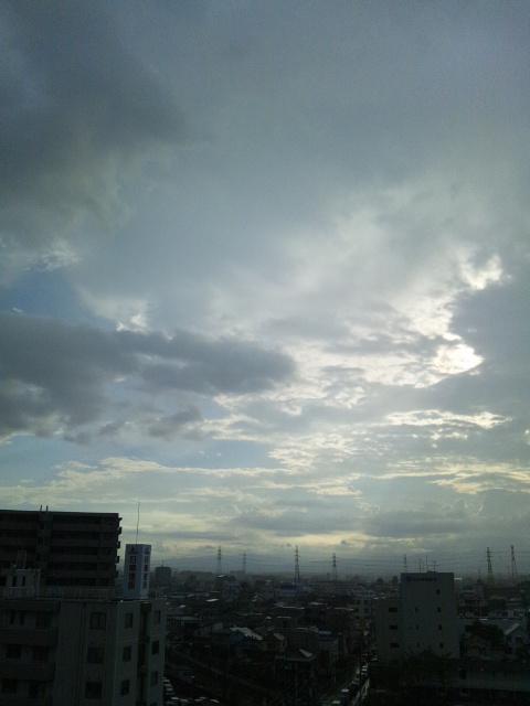 物凄い雨(>_<)