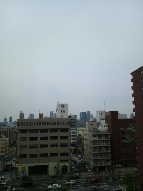 大阪遠征の朝です♪